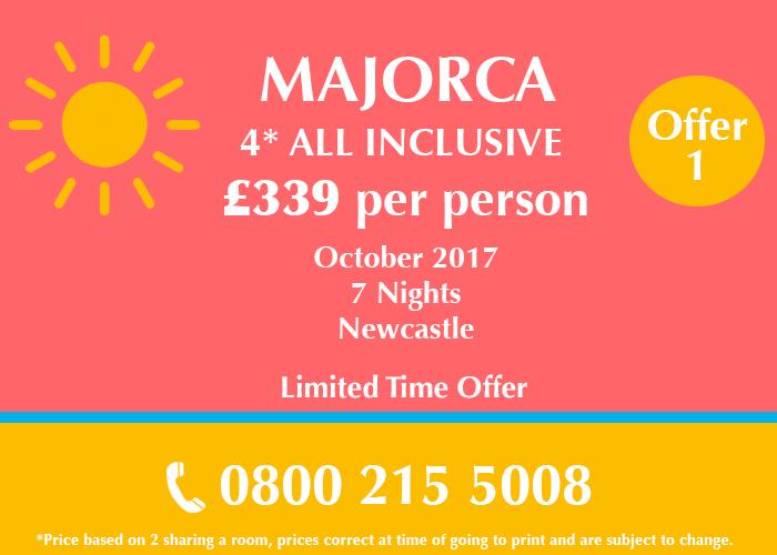 Majorca Holiday Deal