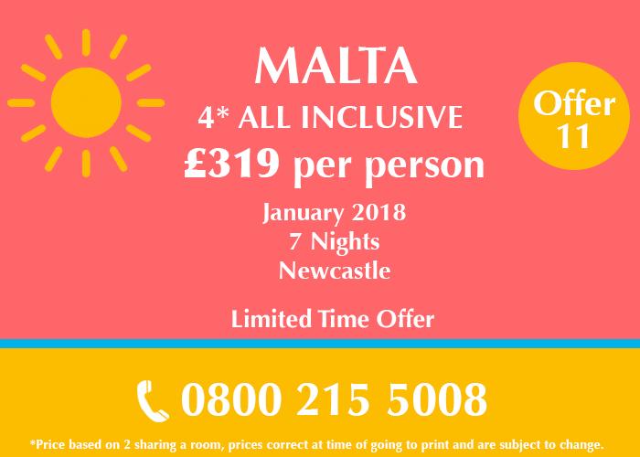Malta Holiday Deal