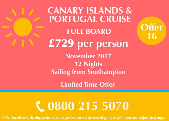 Canary Islands & Portugal Cruise