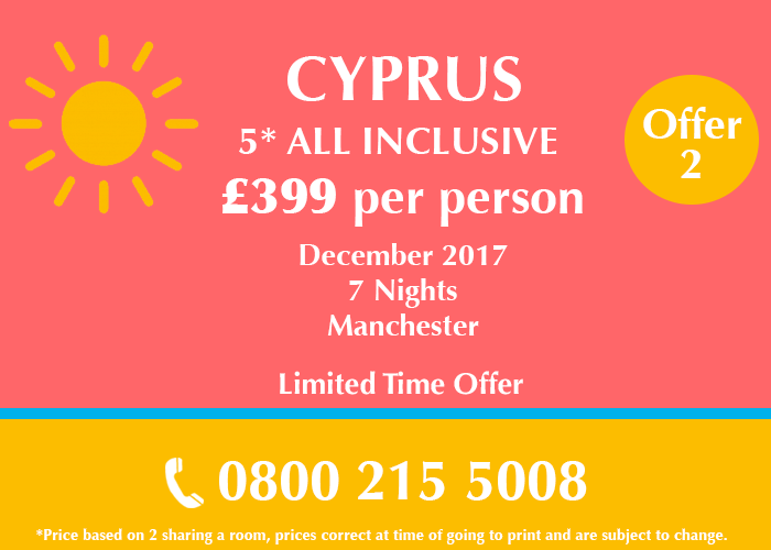 Cyprus Holiday Deal