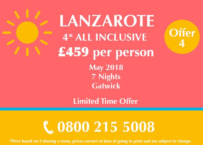 Lanzarote Holiday Deal