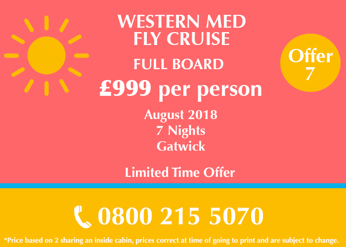 Western Med Fly Cruise