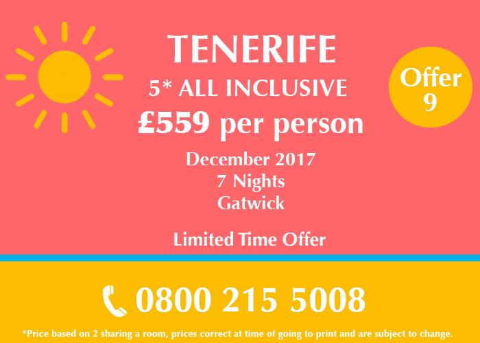 Tenerife Holiday Deal
